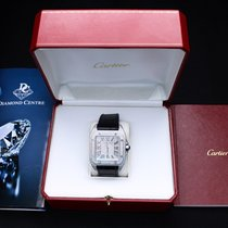 Cartier Santos 100 2656 Very good Steel 38mm Automatic