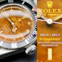 Rolex Submariner (No Date) Steel 38mm Brown No numerals