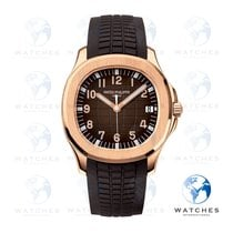 Patek Philippe Rose gold Automatic Brown Arabic numerals 40mm new Aquanaut