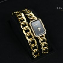 Chanel Première pre-owned 28mm Black Yellow gold
