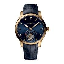 Ulysse Nardin Classic Ulysse Anchor Tourbillon Pозовое золото 44mm Синий