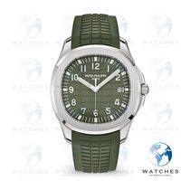 Patek Philippe Aquanaut White gold 42.2mm Green Arabic numerals United States of America, New York, New York