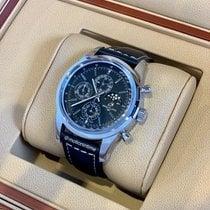 Breitling Сталь Автоподзавод Черный 43mm новые Transocean Chronograph 1461