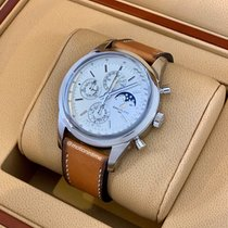 Breitling Transocean Chronograph 1461 Stahl 43mm Silber