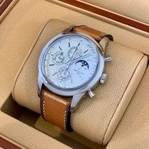 Breitling Transocean Chronograph 1461 Steel 43mm Silver