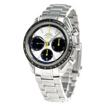 Omega 326.30.40.50.04.001 Steel Speedmaster Racing 46mm new