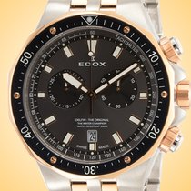 Edox Steel 43mm Quartz 10109 357RBUM NIR new United States of America, Illinois, Northfield