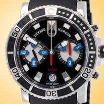 Ulysse Nardin Maxi Marine Diver Steel 42.7mm Black Arabic numerals United States of America, Illinois, Northfield