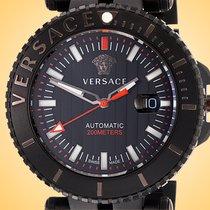 Versace Otel 46mm Atomat VAL010016 nou