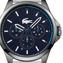 Lacoste Steel 46mm Quartz 2010980 new