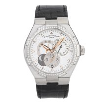 Vacheron Constantin White gold Automatic White No numerals 42mm pre-owned Overseas