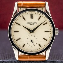 Patek Philippe White gold Manual winding 30.5mm pre-owned Calatrava