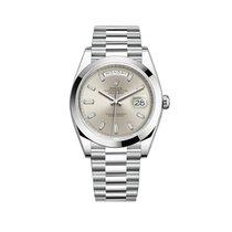 Rolex Day-Date 40 228206 Unworn Platinum 40mm Automatic