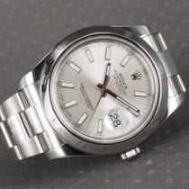 Rolex Datejust II Steel 41mm Silver