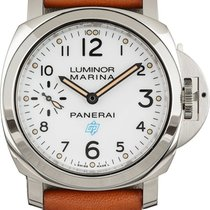 Panerai Luminor Marina Automatic Otel 44mm Alb Arabic