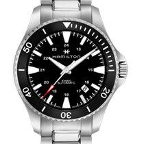 Hamilton Khaki Navy Scuba new Automatic Watch with original box and original papers H82335131