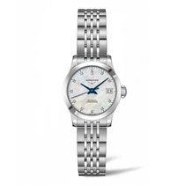 Longines Record new Automatic Watch with original box and original papers L23204876