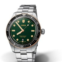 Oris Divers Sixty Five Steel 40mm Green