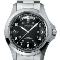 Hamilton Khaki Field King Steel 40mm Black