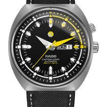 Rado Titanium Automatic Black 46.8mm new HyperChrome Captain Cook