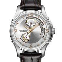 Hamilton Jazzmaster Open Heart Steel 40mm