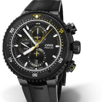 Oris ProDiver Chronograph new Automatic Chronograph Watch with original box and original papers 01 774 7727 7784-Set
