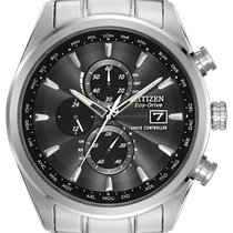 Citizen Silver Chronograph 43mm new Promaster Sky