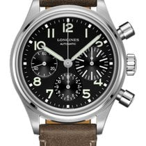 Longines Avigation 41mm Black