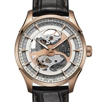 Hamilton Rose gold Automatic 40mm new Jazzmaster Viewmatic