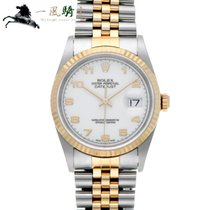Rolex Datejust pre-owned 36mm White Gold/Steel
