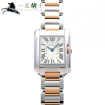 Cartier Tank Anglaise Steel 30.2mm Silver