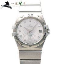 Omega Constellation Ladies Stahl 35mm Silber