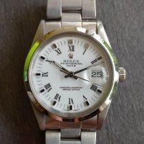 Rolex Aço Automático Prata Sem números 34mm usado Oyster Perpetual Date