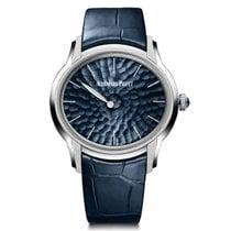 Audemars Piguet Millenary White gold 39.5mm Blue