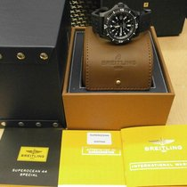 Breitling Superocean 44 pre-owned 46mm Black Date Rubber