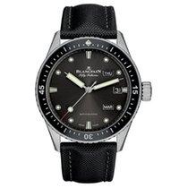 Blancpain Fifty Fathoms Bathyscaphe neu Automatik Uhr mit Original-Box und Original-Papieren 5071 1110 B52A