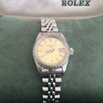 Rolex Oyster Perpetual Lady Date Acero 26mm Champán Sin cifras España, BENIDORM