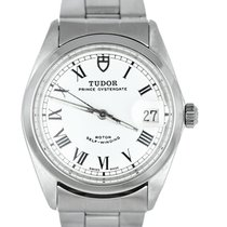 Tudor Prince Date Steel 34mm White Roman numerals United States of America, New York, Smithtown