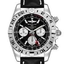 Breitling Chronomat 44 GMT Steel 44mm Black Arabic numerals
