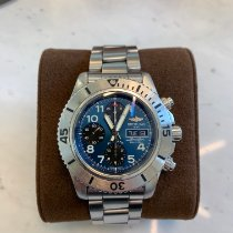 Breitling Superocean Chronograph Steelfish Acier Bleu