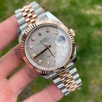 Rolex Datejust II Gold/Steel 41mm Pink No numerals United States of America, New York, New York