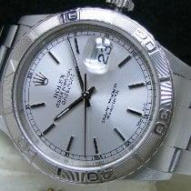 Rolex Datejust Turn-O-Graph pre-owned 36mm Silver Date Perpetual calendar Steel
