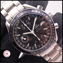 Omega 3520.50.00 Steel 1998 Speedmaster Day Date 39mm pre-owned