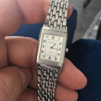 Jaeger-LeCoultre Steel Manual winding Silver Arabic numerals 23mm pre-owned Reverso Classique