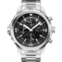 IWC Aquatimer Chronograph nuevo 2021 Automático Cronógrafo Reloj con estuche y documentos originales IW376804