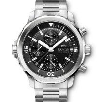 IWC Aquatimer Chronograph Acero 44mm Negro Sin cifras