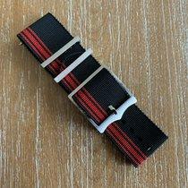 Tudor Fastrider Chrono TUDOR FASTRIDER DUCATI BLACK& RED NATO FABRIC STRAP M42000D neu