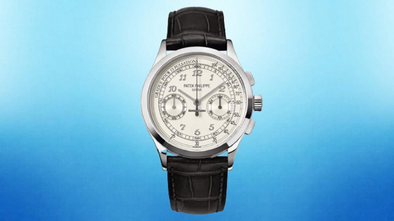 Patek Philippe Chronograph 5170G-001 2016 pre-owned