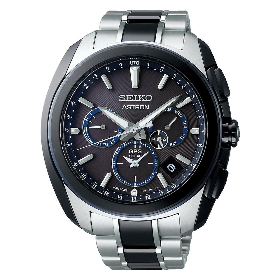 Seiko Astron GPS Solar SBXC059 новые