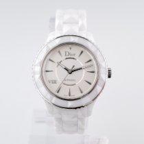 Dior VIII Ceramic 38mm White No numerals